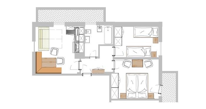 apartment val gardena pool